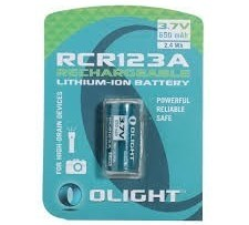 Batería Recargable Olight 16340 De 650mah Y 3.7v Original.