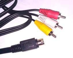 Cable Super Video 3 Rca A S-video 10 Pin Cable Sky Oferta!!!