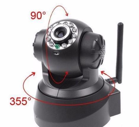 Camara De Seguridad Vigilancia Ip Wifi Full Hd Inalambrica