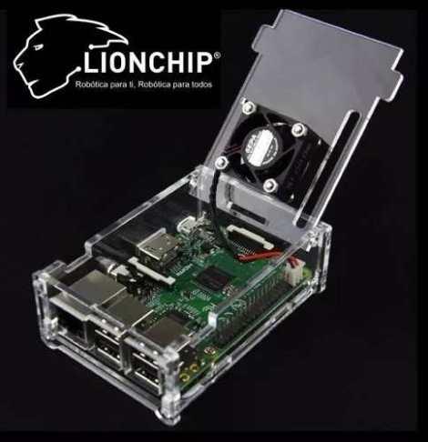Carcasa Case Raspberry Pi 3 2 B+ Protección Acrílico Lionchi