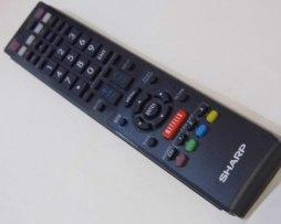 Control Para Pantallas Sharp Aquos Con Boton De Netflix