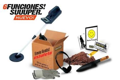 Detector De Metales Tesoros 6 Funciones Envio Gratis