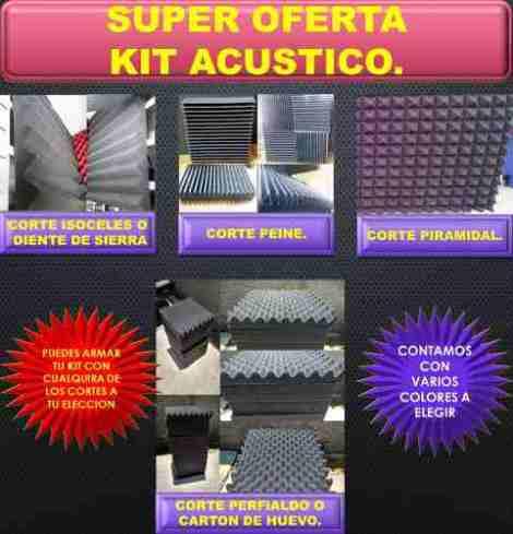 Espuma Acústica      Kit 45pz