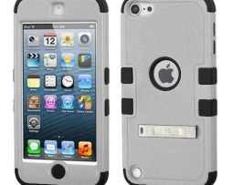 Funda Protector Triple Layer Apple Ipod Touch 5g / 6g Gris /