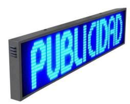 Letrero Led Blanco Anuncio Publicidad Programable Display