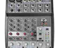 Mezcladora Behringer Xenyx 802 Con 8 Entradas