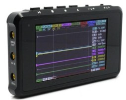 Mini Osciloscopio Portatil Digital 4 Canales 144 Mhz Usb
