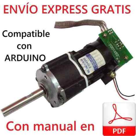 Motorreductor Faulhaber 12v 120 Rpm 1.72 Nm Encoder Optico.
