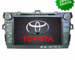 Navegador Gps Toyota Corolla 07 08 09 10 11  Autoestereo