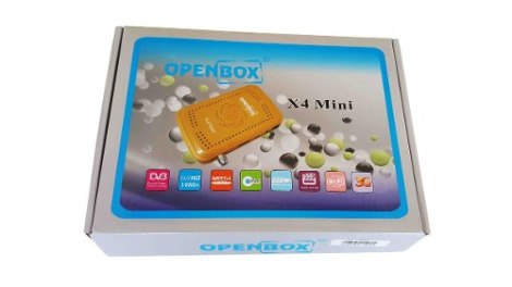 Receptor Satelital Openbox X4 Mini Hd + Wifi