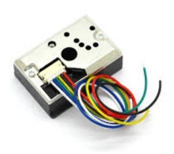 Sensor Óptico De Polvo Sharp Gp2y1010au0f Para Arduino