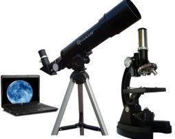 Telescopio Y Microscopio Quasar Q50m Con Maleta Y Software