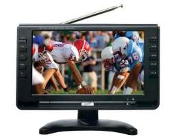 Tv Digital Portatil Pantalla Lcd 9 A Color Entrada Usb Sd
