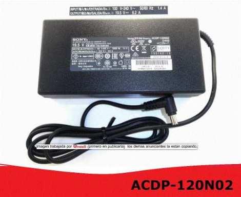 Acdp-120n02 Adaptador Para Pantalla Led Sony 19.5v Puebla en Web Electro