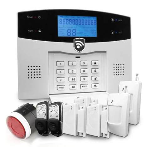 Alarma Gsm Seguridad Casa Negocio Oficina Sms Celular X App en Web Electro