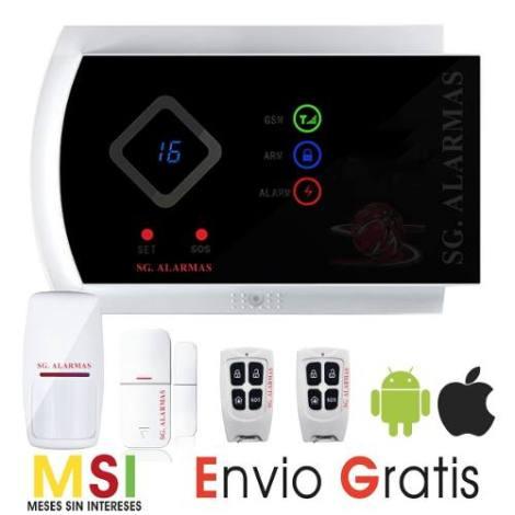 Alarma Gsm Seguridad Casa Negocio Vía App – Celular – Sms en Web Electro
