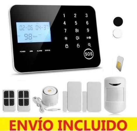 Alarma Inteligente Dual Telefóno Gsm Touch Casa Negocio en Web Electro