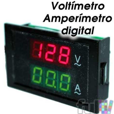 Amperimetro Voltimetro Digital 80~300v Ac Y 0~1000 Amperes en Web Electro