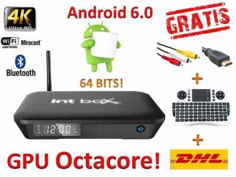 Android Tv 6.0 Marshmallow Gpu Octacore +teclado+rca+envio en Web Electro