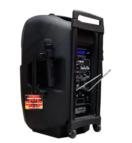 Bafle Bocina 8000w  Recargable  15 Amplificado Usb Bluetooth en Web Electro