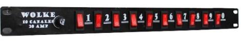 Barra Multicontacto Para 10 Aparatos en Web Electro