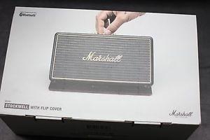 Bocina Portable Marshall Stockwell Bluetooth  Bateria Funda en Web Electro