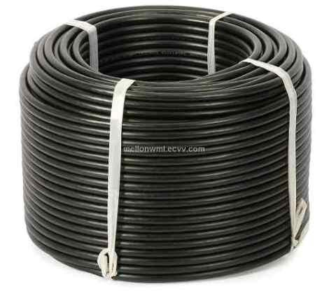 Cable Coaxial 100 Mts Rg6  Negro Profesional en Web Electro