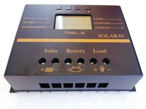 Controlador Carga 60 A Panel Solar 12v Bateria Regulador en Web Electro