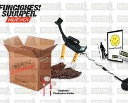 Detector De Metales Y Tesoros 9 Funciones Envio Gratis!
