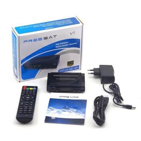 Freesat V7 Hdmi Wifi Mas 6 Meses De Sop Azul en Web Electro