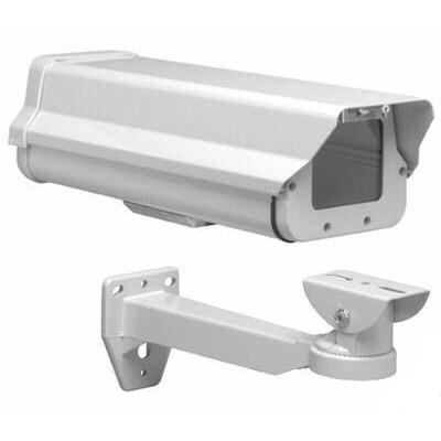 Gabinete Blanco Aluminio Housing Exterior P Camaras Cctv en Web Electro
