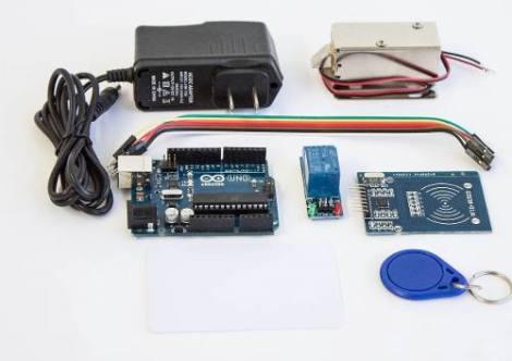 Kit Automatizacion Cerradura Electronica Con Arduino Y Rfid en Web Electro
