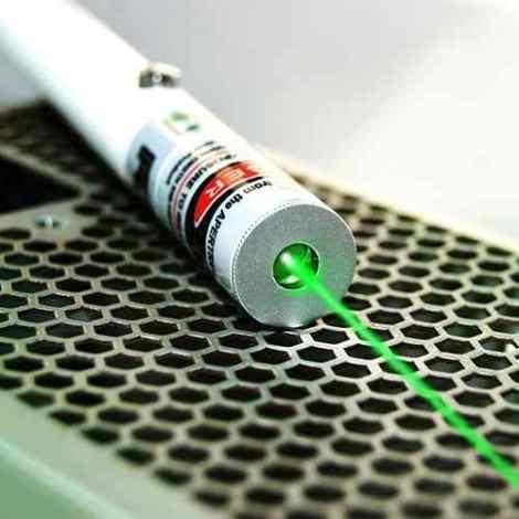 Laser Verde Tipo Pluma 500mw Apuntador Y Multipunto C/estuch en Web Electro