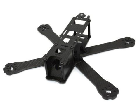 Lumenier Qav-r 220 210 Frame Racer Dron Fibra Carbono en Web Electro