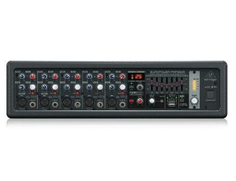 Mezcladora Behringer Amplificada Pmp550m Activa 5ch 500w en Web Electro