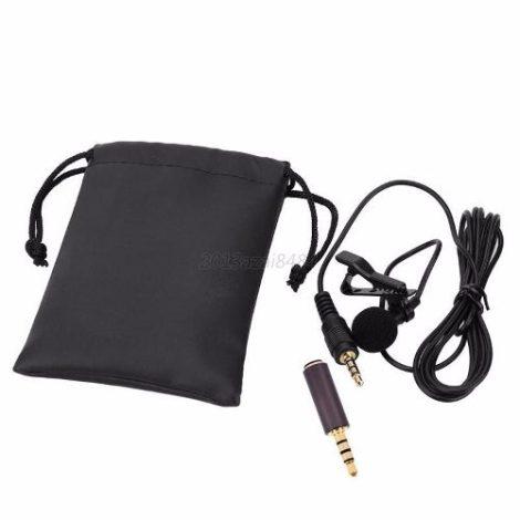 Micrófono Lavalier Solapa De Clip Para Celular Tableta en Web Electro