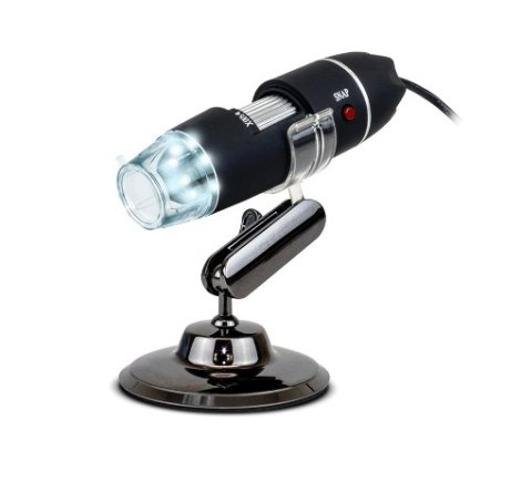 Microscopio Digital Usb Zoom Optico 500x 8 Led Luz Hd Pc Lap en Web Electro
