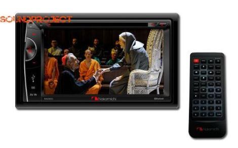 Nakamichi Doble Din Bluetooth/usb/sdcard/dvd Touchscreen 6.2 en Web Electro