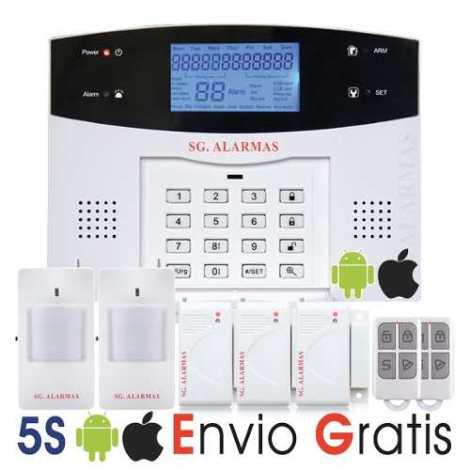 Nueva Alarma Gsm Sms Inalámbrica Casa Negocio Oficina Dvn en Web Electro