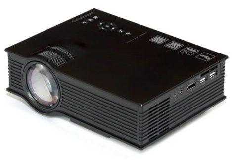 Proyector Led 1500 Lumenes Hd 1080p Hdmi Vga Profesional en Web Electro