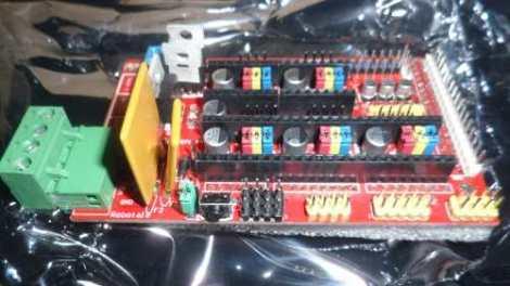 Ramps 1.4 Reprap Shield en Web Electro