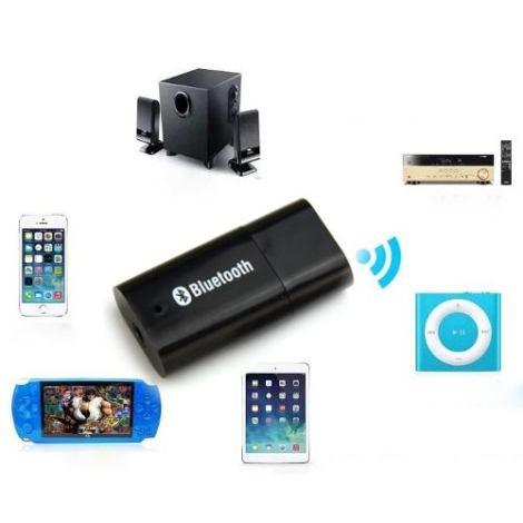 Receptor Bluetooth Recive Audio Adaptador Plug-in Usb en Web Electro