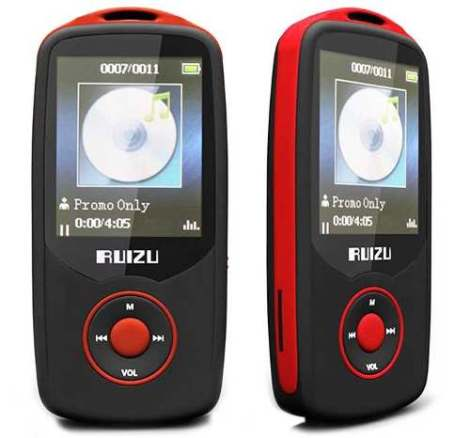 Reproductor Mp3 Ruizu X-06 Bluetooth Wav Flac Ogg Mp3 en Web Electro