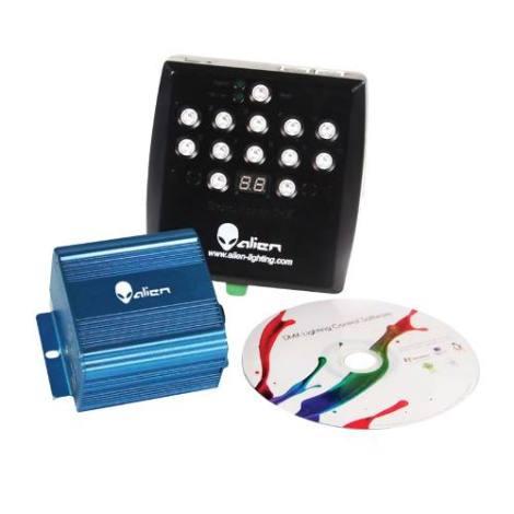 Software Dmx Compatible 512 Canales 4 Interfases Luz Disco D en Web Electro