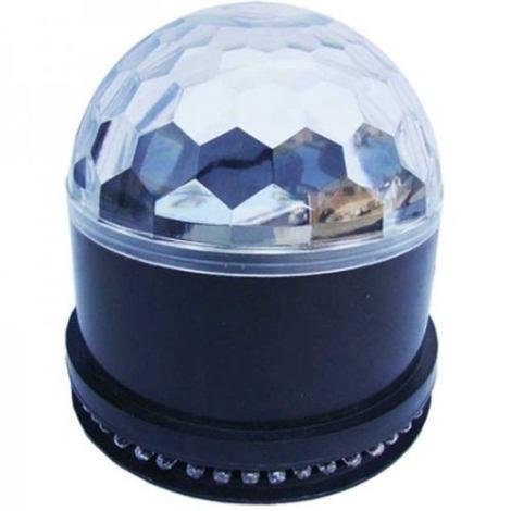 Sunball Luz Bola Disco Led Rgb Dj Sonido Esfera Cristal Beam en Web Electro