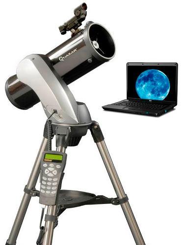 Telescopio Computarizado Quasar Qtronic130 Con Ocular Usb en Web Electro