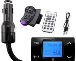 Transmisor Fm Bluetooth Manos Libres Musica Control Volante