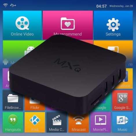 Tv Box Mxq Quad Core Android 4.4.2 Kodi Iptv Hd 1080i 8gb en Web Electro