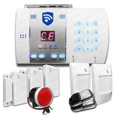 Alarma Telefonica Digital Seguridad Casa Negocio Oficina en Web Electro