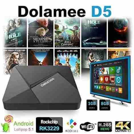 Android 5.1 Smart Tv Box Dolamee D5 Kodi 2016 Quad 8g+1g 4k en Web Electro